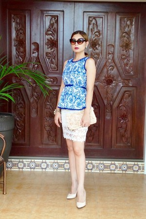lace Asia-Fashion-Wholesale skirt - clutch Robinsons dept store bag