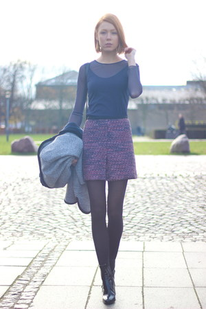 amethyst multi H&M skirt