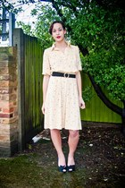 wwwSoLovesVintagecom dress - wwwSoLovesVintagecom belt
