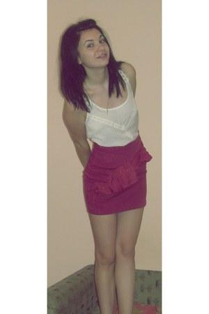 Bershka skirt - Bershka top