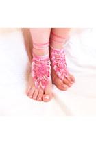 Mashacrochet sandals