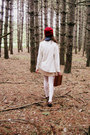 Ruby-red-handmade-hat-beige-erin-fetherston-dress