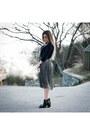 Metallic-jennyfer-skirt
