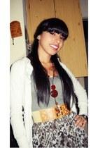Kimei dress - Akiabara sweater - Tropea belt - necklace