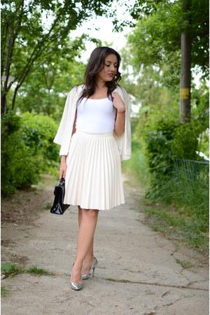 Zara cardigan - Zara skirt - Zara top