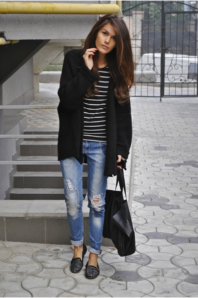 Zara cardigan - bag