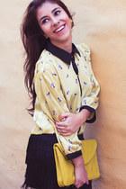 Aishop shirt - Exotik bag - pima skirt