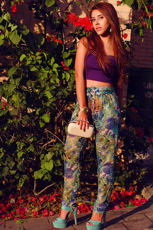 Aldo bag - Bershka pants - Forever 21 top