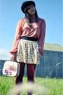 Miss-selfridge-blouse-lace-up-oxfords-marks-spencer-flats