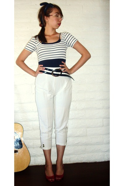 blue Secondhand intimate - white Secondhand pants