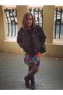Zara-boots-zara-jacket-zara-skirt