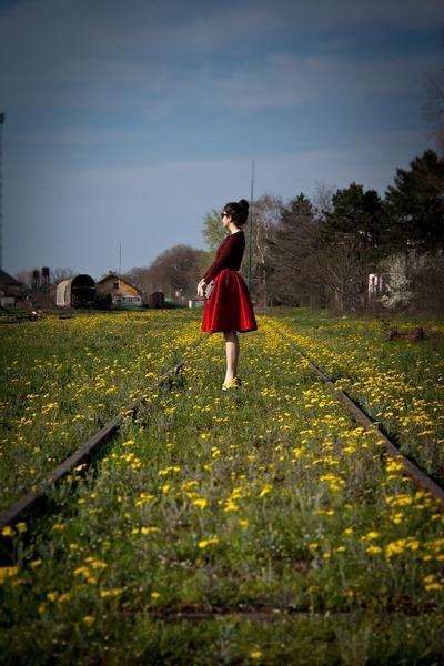 cotton Choies blouse - Sheinside skirt - Lovelyshoes heels
