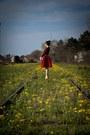 Cotton-choies-blouse-sheinside-skirt-lovelyshoes-heels