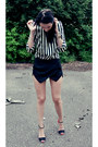 Black-zara-shorts-white-zara-blouse-black-zara-sandals