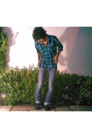 shoes - jeans - sweatshirt