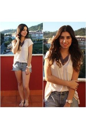 ivory H&M shirt