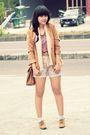 Brown-vintage-blazer-purple-somewhere-in-closet-top-blue-just-wanderlust-sho