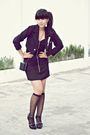 Black-thrift-store-blazer-black-miss-selfridge-dress-black-sox-gallery-socks