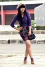Purple-vintage-sweater-blue-gifted-skirt-beige-ebay-hat-purple-sox-gallery