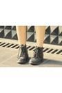 Dark-brown-jamy-bag-black-leather-ankle-topshop-boots