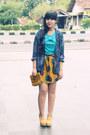 Beaded-clutch-vintage-bag-leather-zara-belt-patterned-gift-skirt