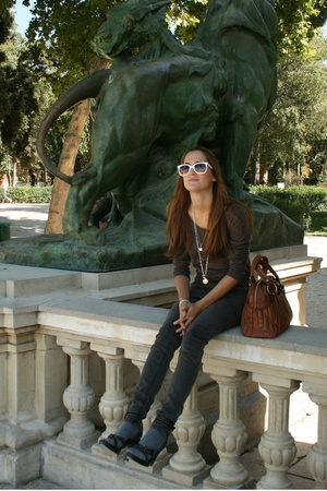 vintage sunglasses - Cheap Monday jeans - vintage accessories