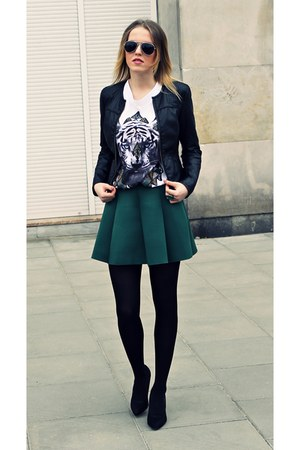 forest green choiescom skirt