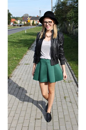 green Choies skirt