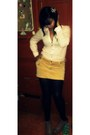 Leather-boots-cotton-blouse-banana-republic-skirt