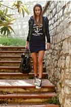 Converse shoes - Oasapcom dress - Glamour Marmalade stockings