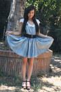 Blue-denim-dress-h-m-dress