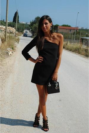 black christian dior bag - black Giuseppe Zanotti heels