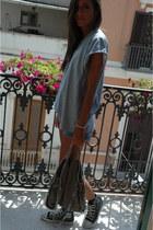 Stella McCartney bag - dondup shorts - vintage t-shirt - Converse sneakers