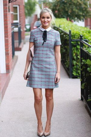 plaid Primark dress