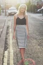 Zara skirt - H&M top
