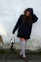 burnt orange Primark shoes - black Dayaday bag - beige Calcedonia socks - black