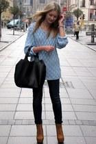 allegro shoes - H&M jeans