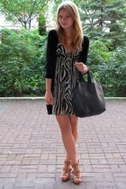 H&M dress - Mazanna bag - H&M sandals - H&M ring - H&M cardigan