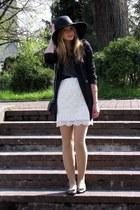 Amisu coat - Glitter hat - H&M shirt - Tally Weijl bag
