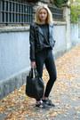 Black-h-m-jeans-black-h-m-jacket-dark-gray-second-hand-blouse