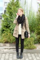 H&M pants - Vila jacket - Zara bag - H&M heels