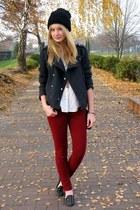 Bershka jacket - H&M shirt - Zara pants