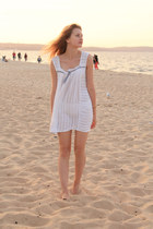 white second hand dress