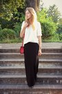 Glitter-bag-mango-blouse-terranova-skirt-perfois-watch-apart-bracelet