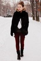 Zara pants - H&M jacket - Mango bag