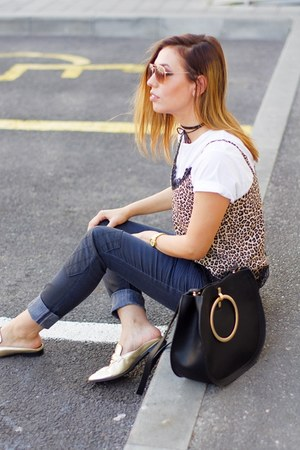 Mustang jeans - Zara bag - H&M top