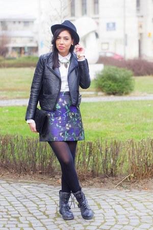 Zara skirt - black hat