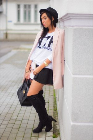 Sheinside coat - light pink Sheinside coat