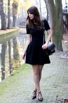 Maje dress - PROENZA SCHOULER bag - Zara heels
