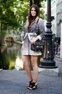 Beige-animal-print-desigual-coat-black-leather-proenza-schouler-bag